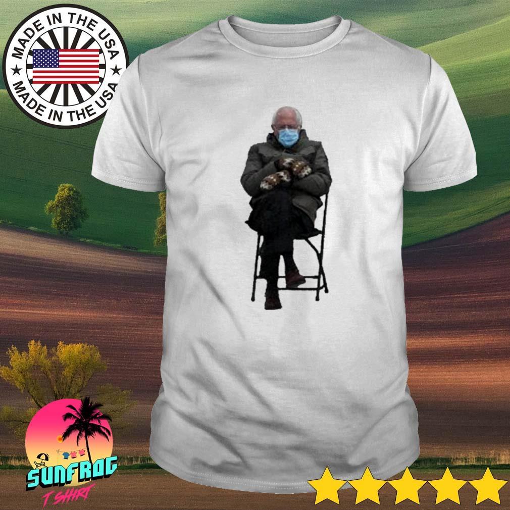 Bernie Sanders face mask COVID-19 shirt