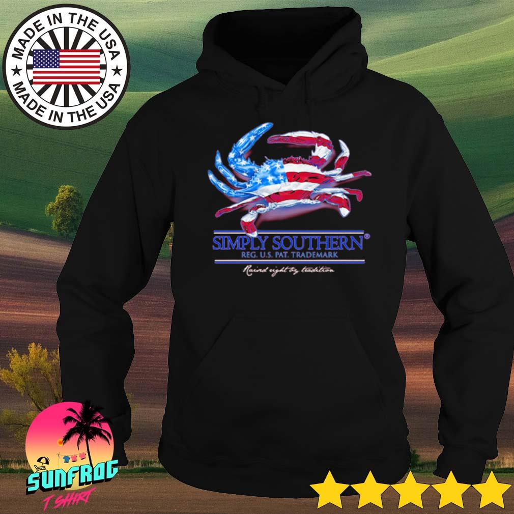 Simply Southern Reg U.S pat trademark raised night try tradition s Hoodie