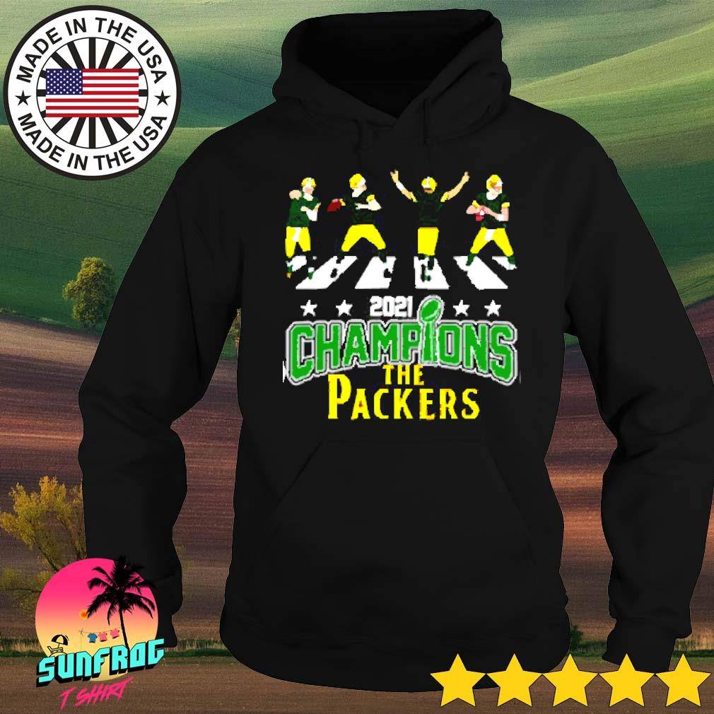 2021 Champions the Packers Abbey Road s Hoodie