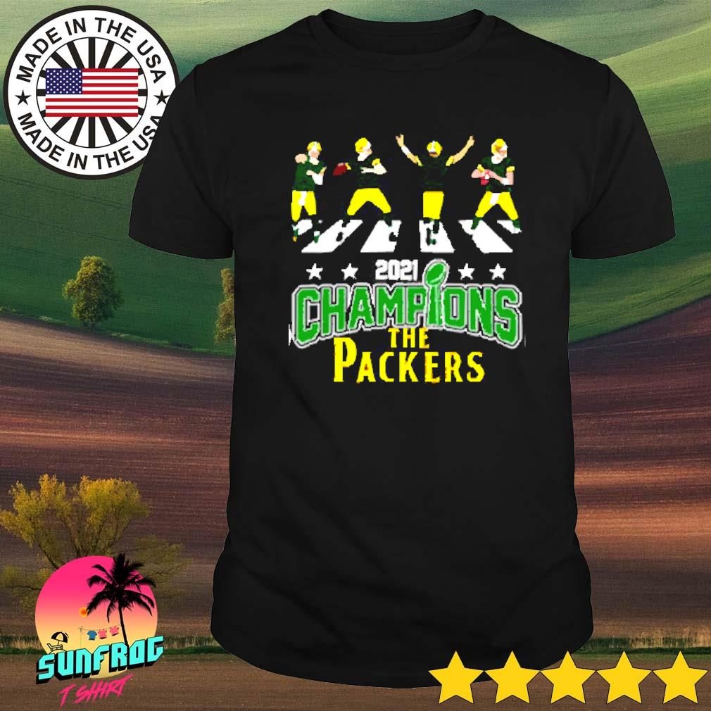 2021 Champions the Packers Abbey Road shirt