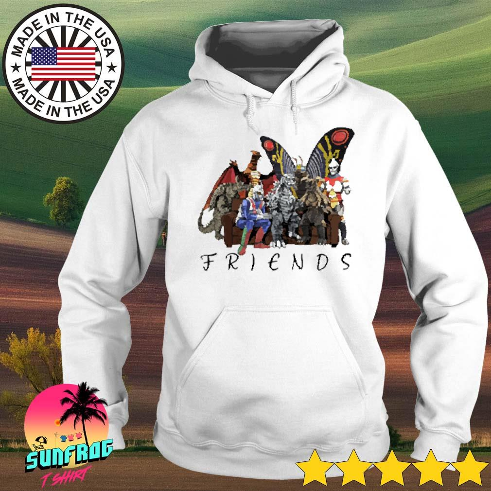 Godzilla and friends cartoon s Hoodie