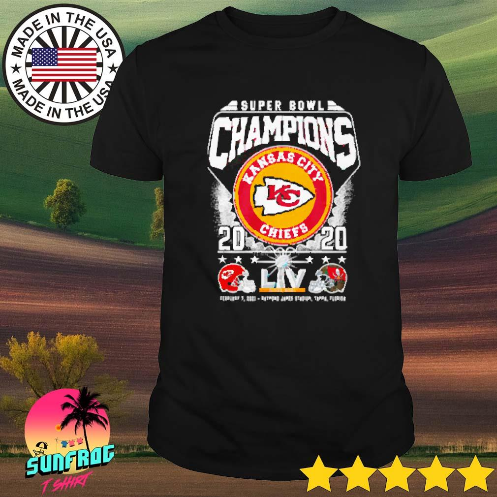 Super bowl champions Kansas City Chiefs 2020 February 7 2021 shirt