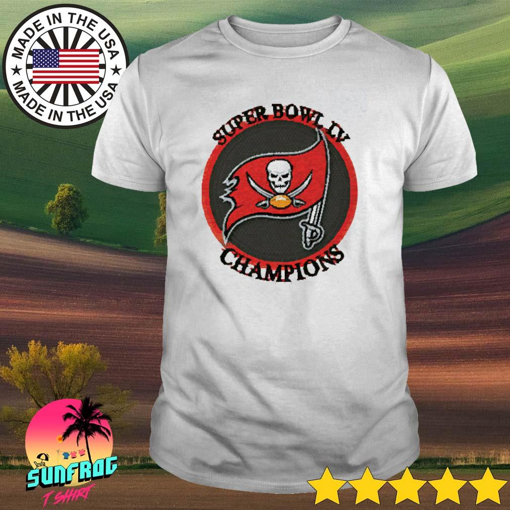 Super bowl LV champions Tampa Bay Buccaneers football shirt