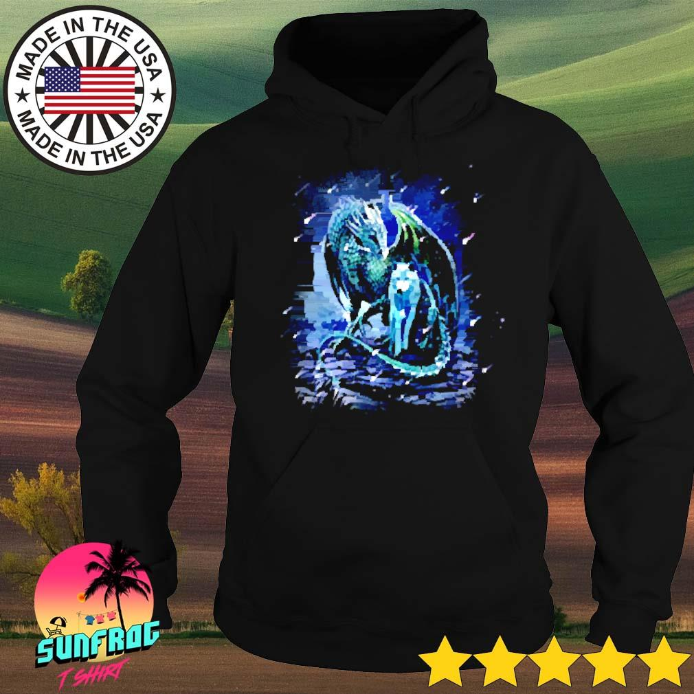 Wolf and dragon s Hoodie